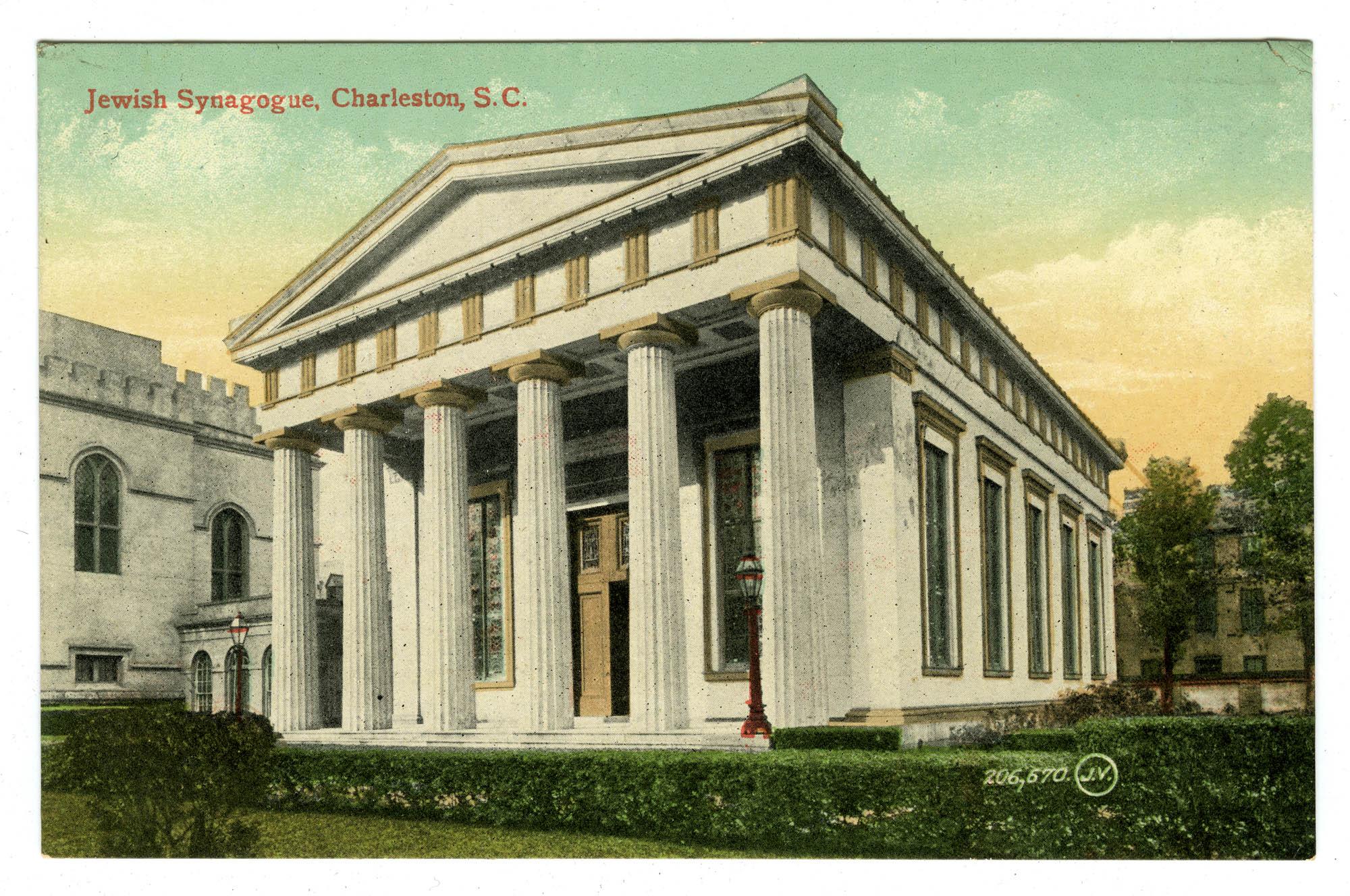 Jewish Synagogue, Charleston, S.C.