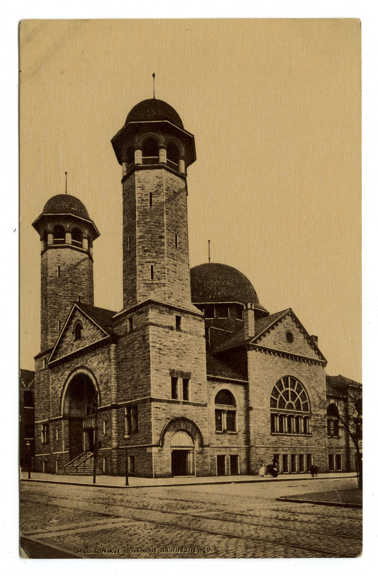 Madison Ave. Synagogue, Baltimore, Md.