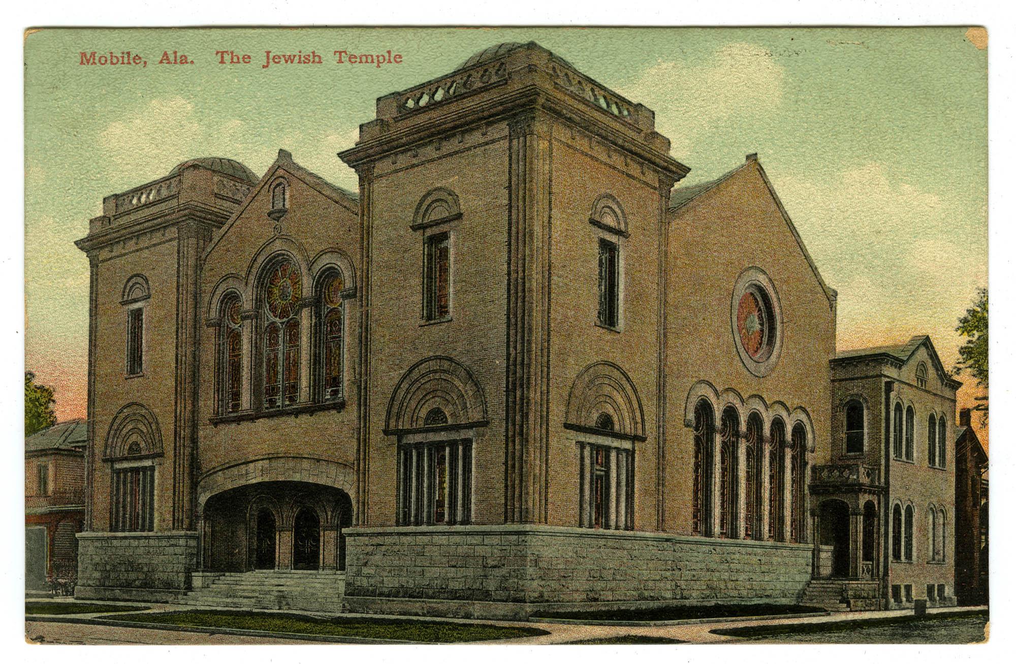 The Jewish Temple, Mobile, Ala.