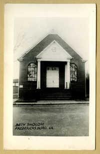 Beth Sholom, Fredericksburg, Va.
