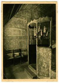Synagoge von Kirchheim 1700