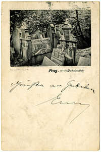 Prag, der alte Judenfriedhof