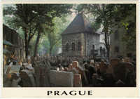 Prague, Old Jewish Cemetery