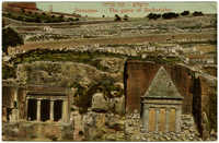 ירושלים - קבר זכריהו / Jerusalem - The grave of Zecharjahu