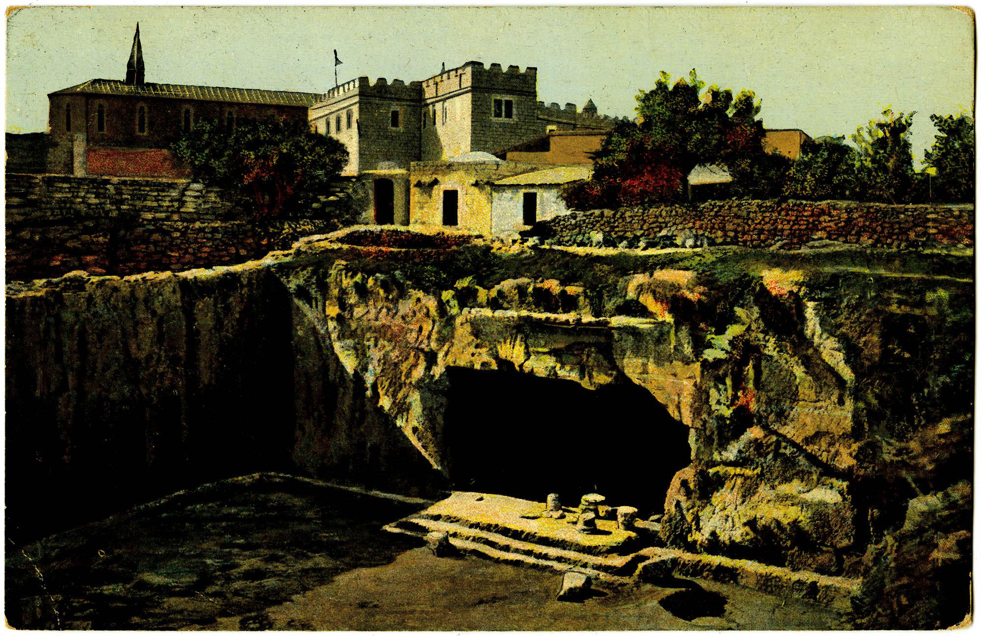 Jerusalem. Les tombeaux des rois. / Tombs of the Kings. / Königsgräber.