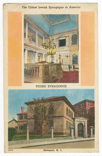 The Oldest Jewish Synagogue in America, Touro Synagogue, Newport, R.I.