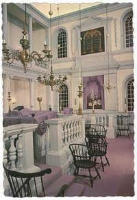 Interior of Touro Synagogue