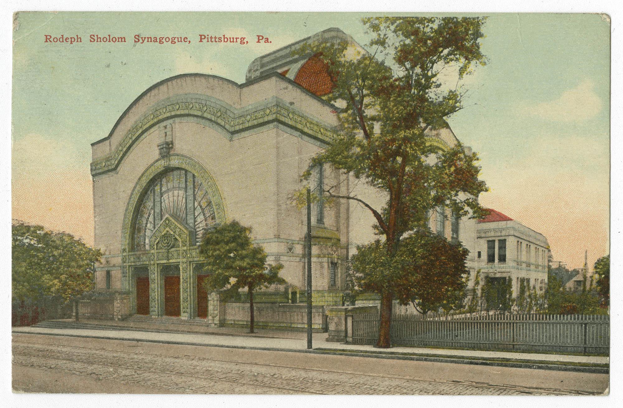 Rodeph Sholom Synagogue, Pittsburg, Pa.