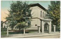 Newport, R.I. Jewish Synagogue.