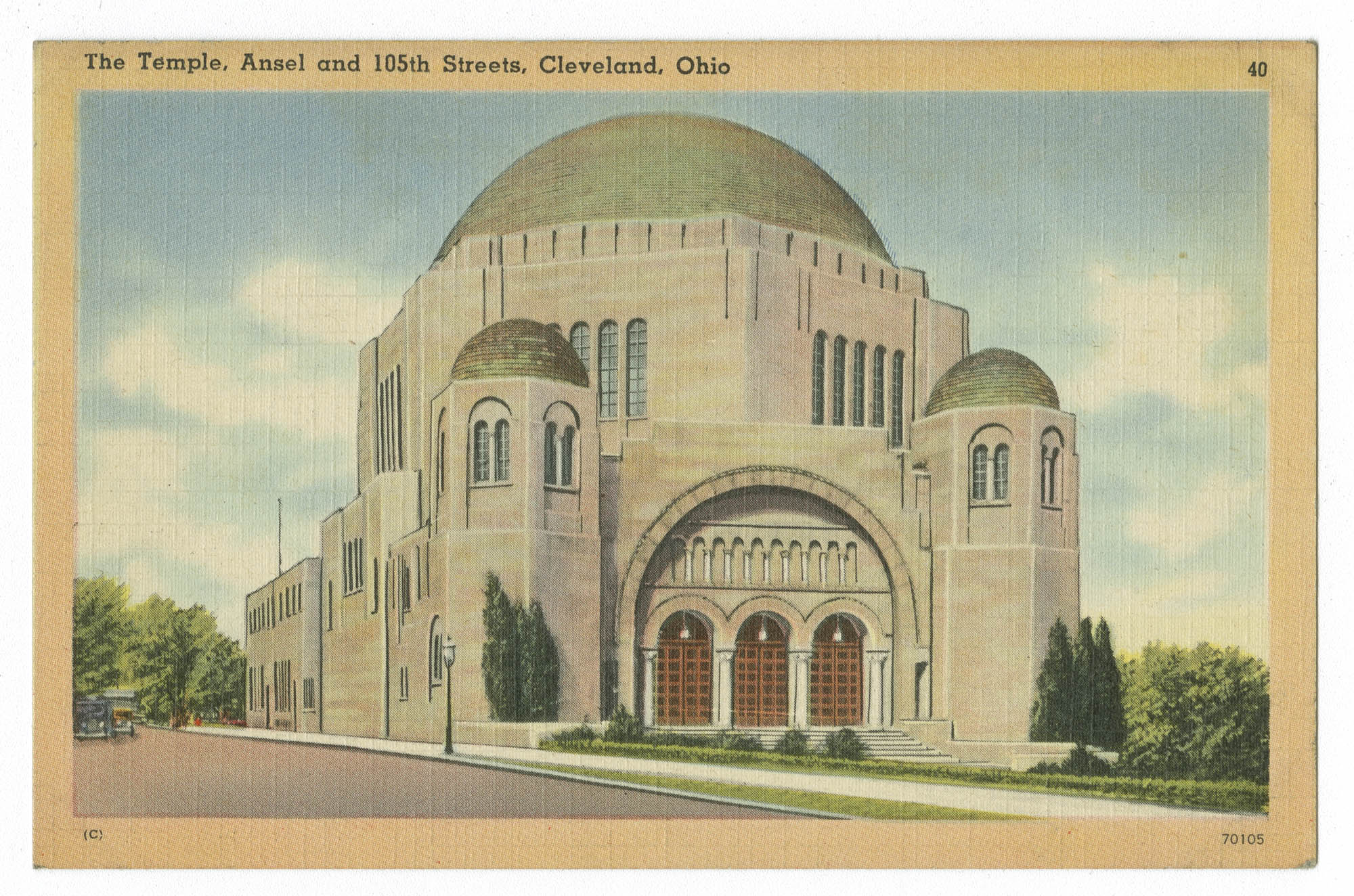 The Temple, Ansel and 105th Streets, Cleveland, Ohio