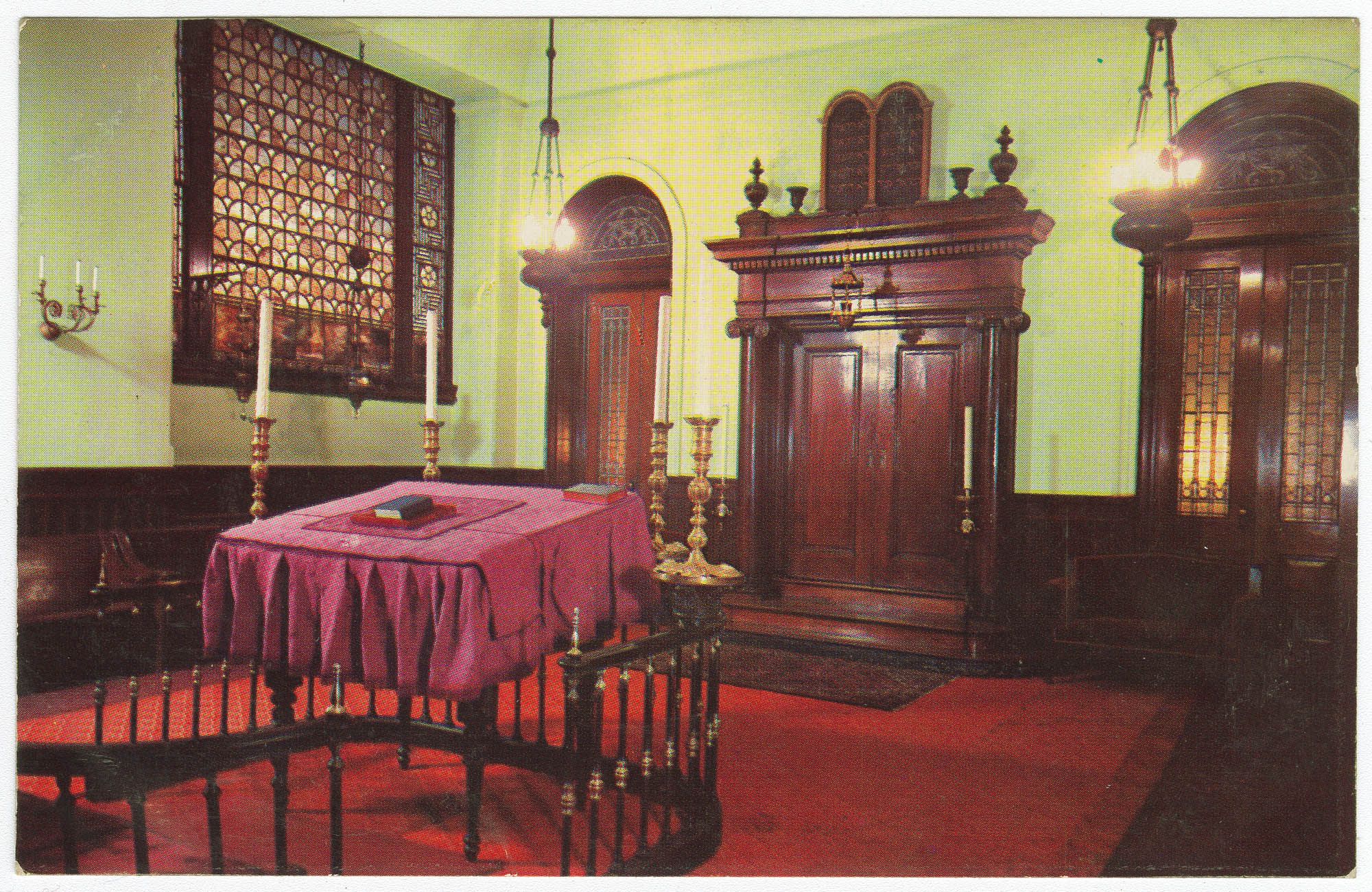Small Synagogue of the Congregation Shearith Israel, The Spanish and Portuguese Synagogue, Central Park West at 70th Street, New York City
