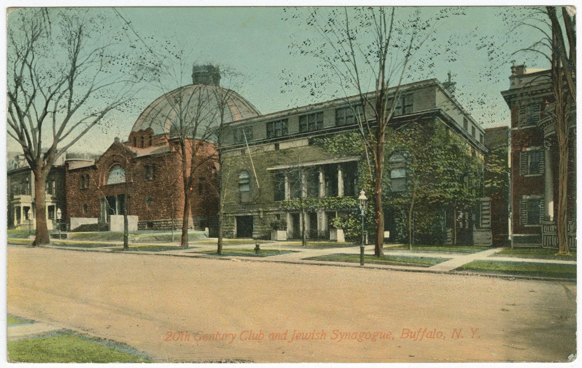 20th Century Club and Jewish Synagogue, Buffalo, N.Y.