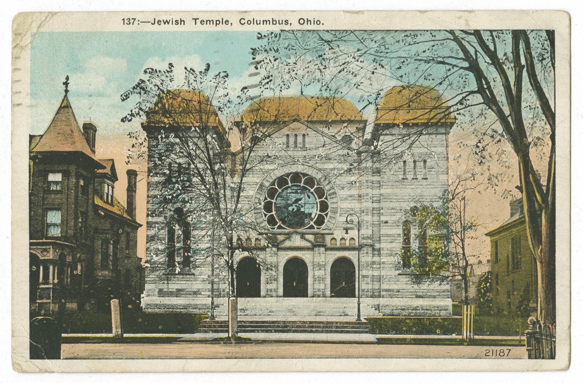 Jewish Temple, Columbus, Ohio