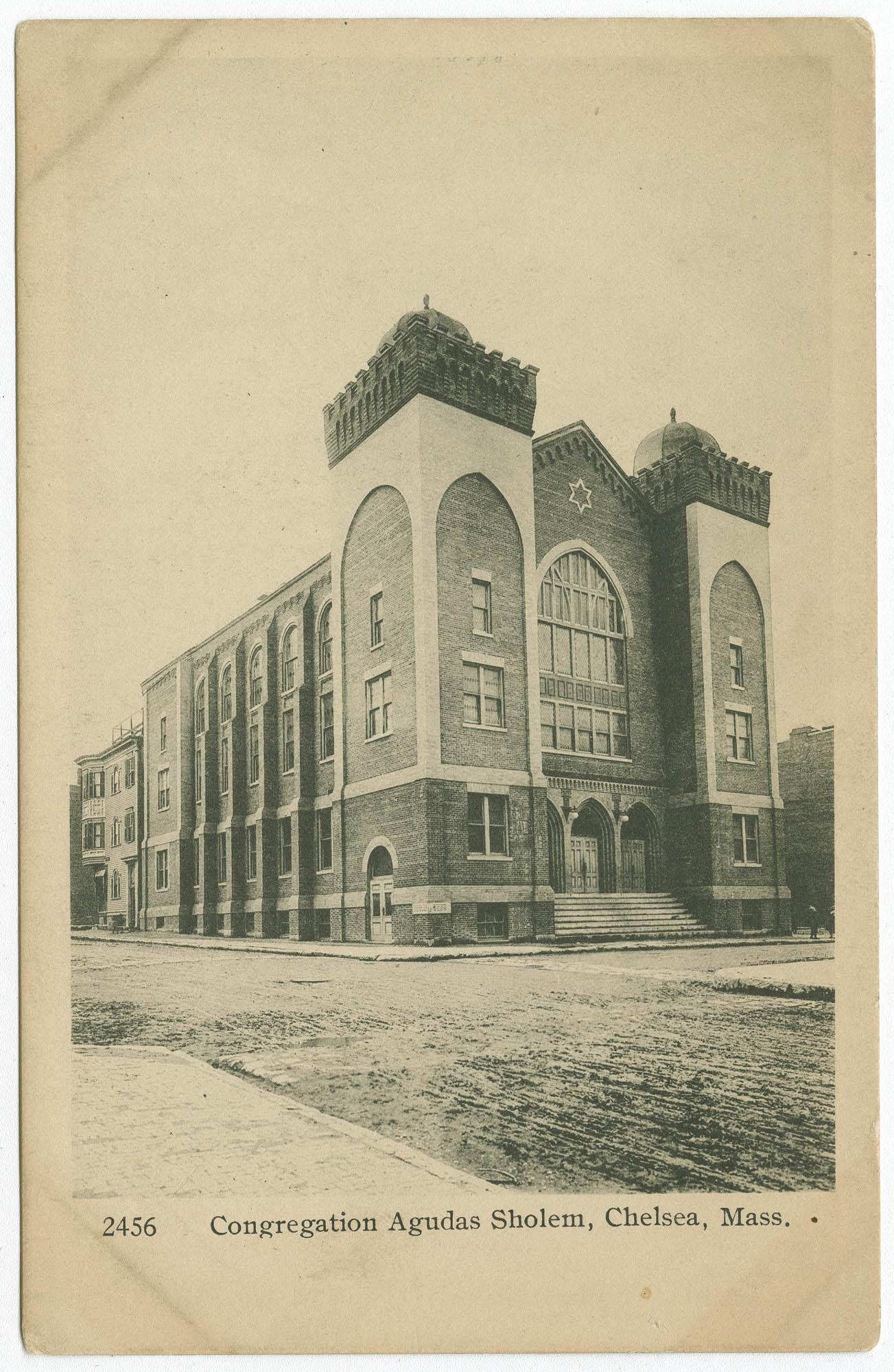 Congregation Agudas Sholem, Chelsea, Mass.
