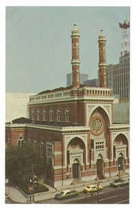 Plum Street Temple, K.K. B'nai Yeshurun, Cincinnati, Ohio