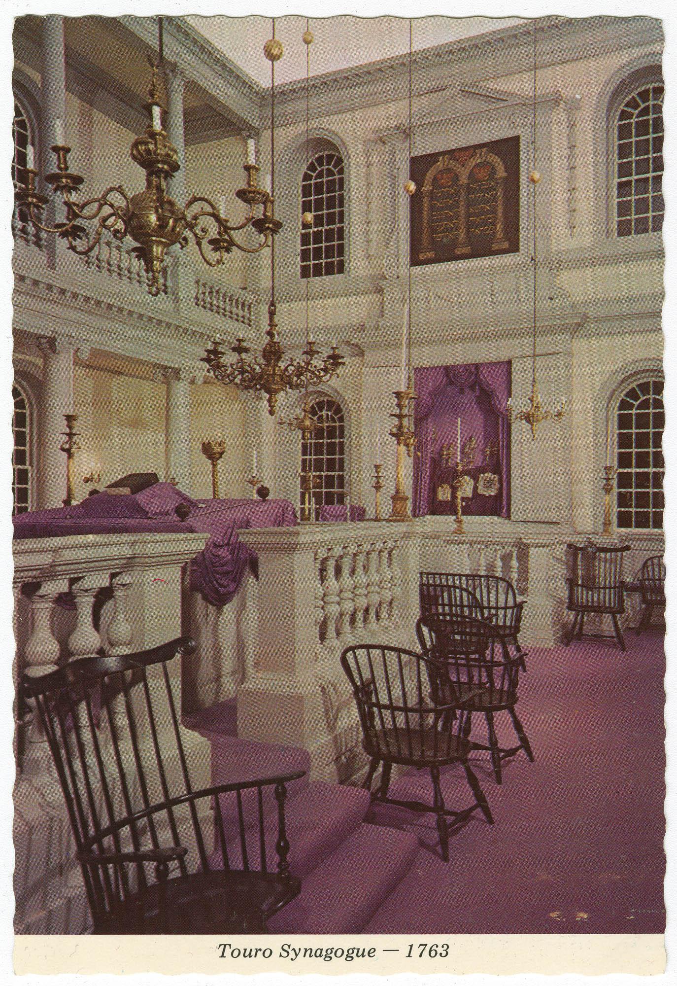 Touro Synagogue - 1763