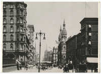 New York, c. 1893. Fifth Avenue, 42nd Street