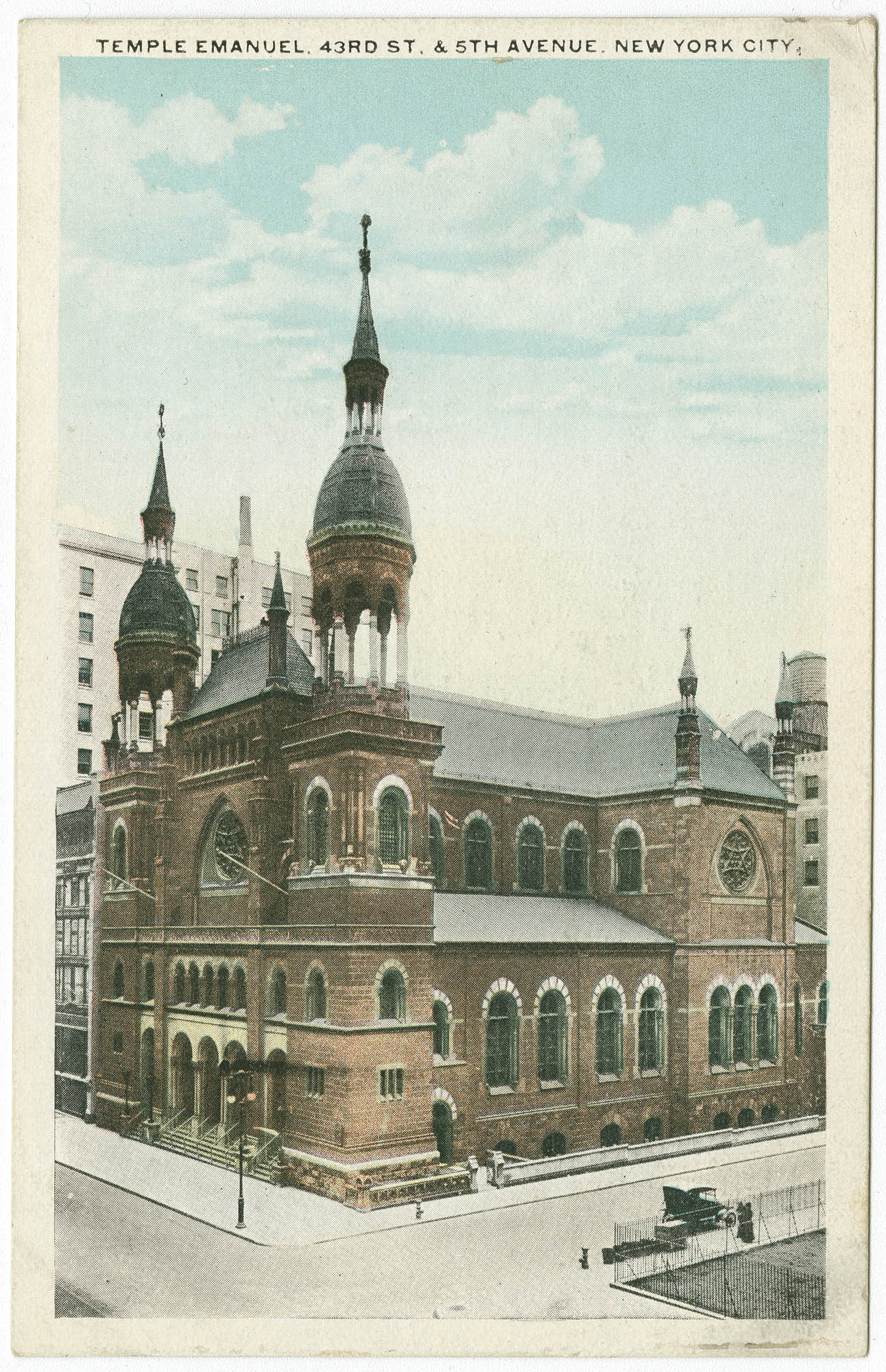 Temple Emanuel, 43rd St. and 5th Avenue, New York City