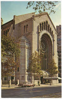 Temple Emanu-El, New York City