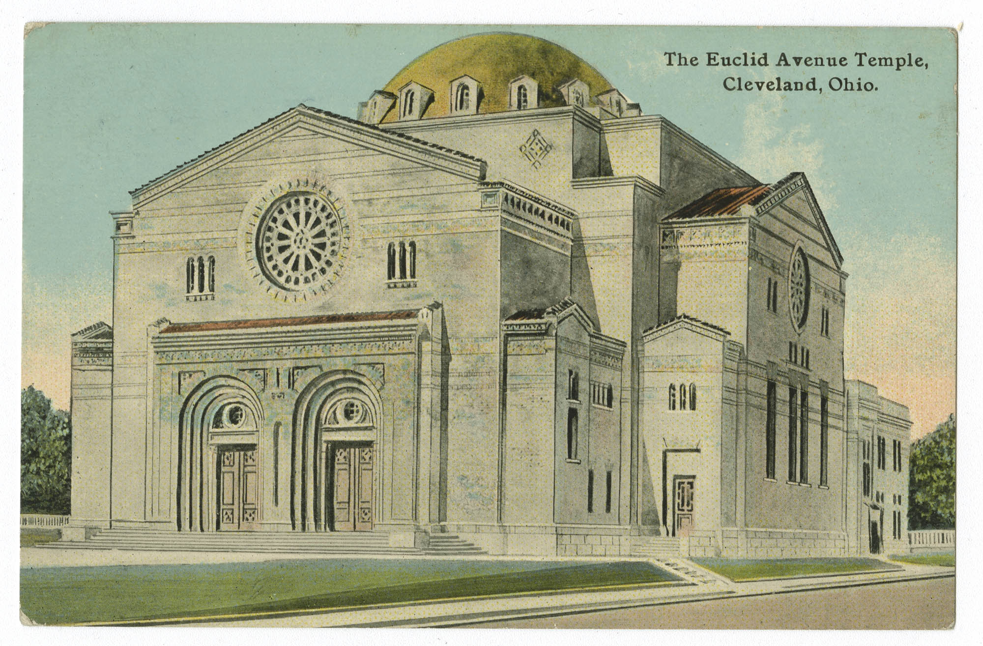 The Euclid Avenue Temple, Cleveland, Ohio