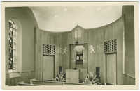 The Chapel in the Union House of Living Judaism-Berg Memorial, 838 Fifth Avenue, New York, N.Y.