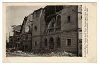 Scottish Rite Temple and New Synagogue, San Francisco, Cal., after the earthquake, April 18, 1906