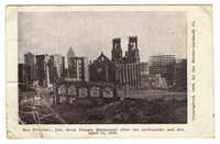 San Francisco, Cal., from Temple Emmanuel after the earthquake and fire, April 18, 1906