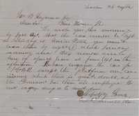 188. Edward Barnwell to James B. Heyward -- October 24, 1862