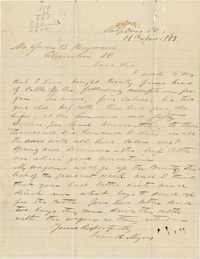 204. Frank Myers to James B. Heyward -- November 18, 1863