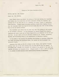 Minutes of the South Carolina A. Phillip Randolph Institute