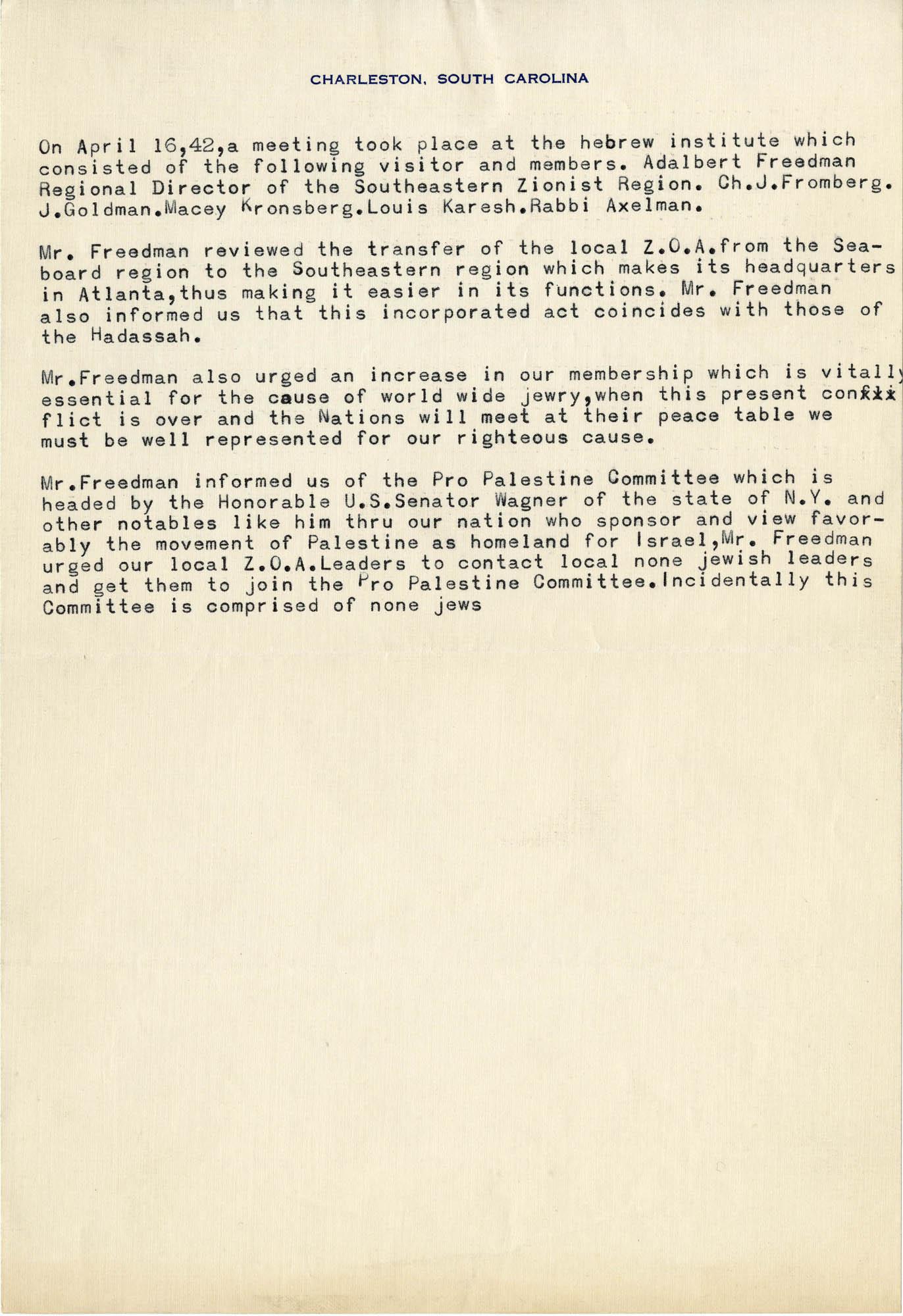 11. April 16, 1942 Minutes