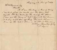 192. Frank Myers to James B. Heyward -- February 27, 1863
