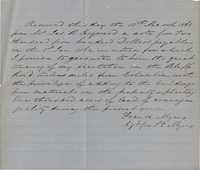 194. Receipt of note between Frank Myers and James B. Heyward -- March 13, 1863