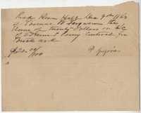 208. Written loan for $20 -- December 9, 1863