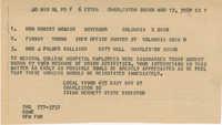Telegram to Robert McNair, Finway Young, and J. Palmer Gaillard from Isaiah Bennett
