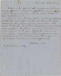 115. Daniel Heyward Hamilton to James B. Heyward -- December 3, 1851