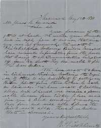 167. Lacklison & Co. to James B. Heyward -- May 31, 1861