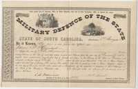 184. Bond (Military Defense) to James B. Heyward for $5,000 -- January 1, 1862