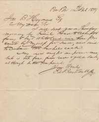 158. Edward Barnwell, Jr. to James B. Heyward -- April 11,1859