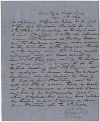 309. Letter from Freedmen's Bureau to Thomas B. Ferguson -- November 7, 1866