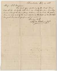 306. Hyatt McBurney to Thomas B. Ferguson -- July 17, 1866