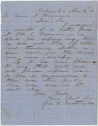 222. Jno. H. Boatwright to James B. Heyward -- November 12, 1864