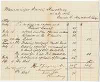 320. Bill of Services to James B. Heyward -- December 29, 1870