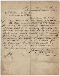 569.  Letter from Unknown to J. C. Plant -- December 5, 1850