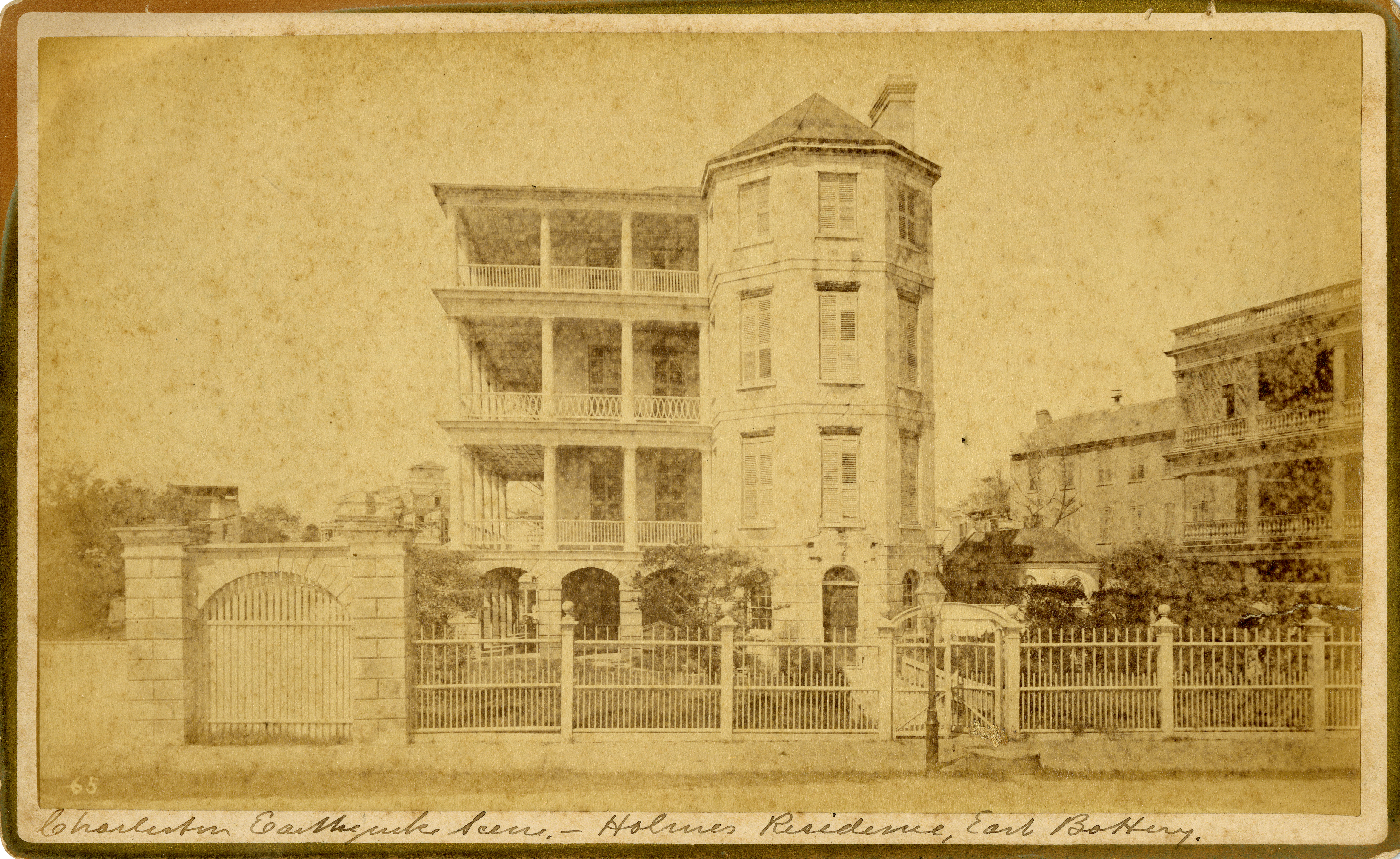 East Battery, Holmes residence