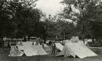Hampsted Mall, tent village