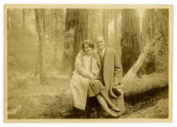 Anita Pollitzer and Elie Edson at Muir Woods