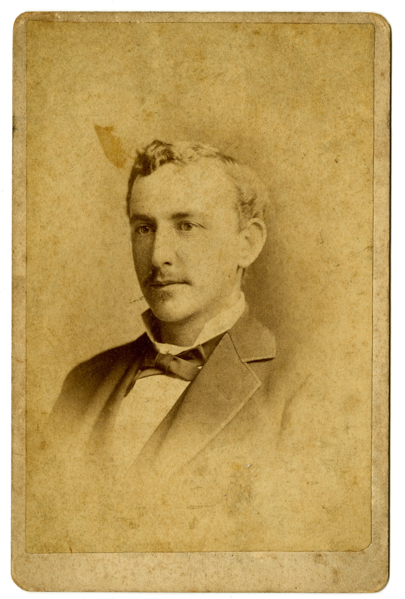 Gustave M. Pollitzer, about 25 years old
