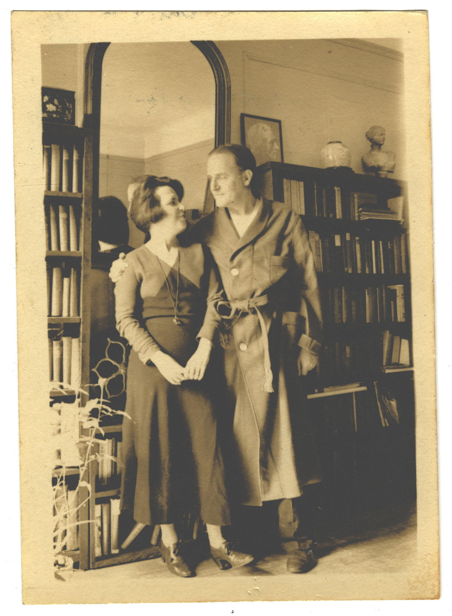 Anita Pollitzer and Elie Edson