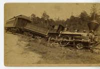 train wreck at Langley